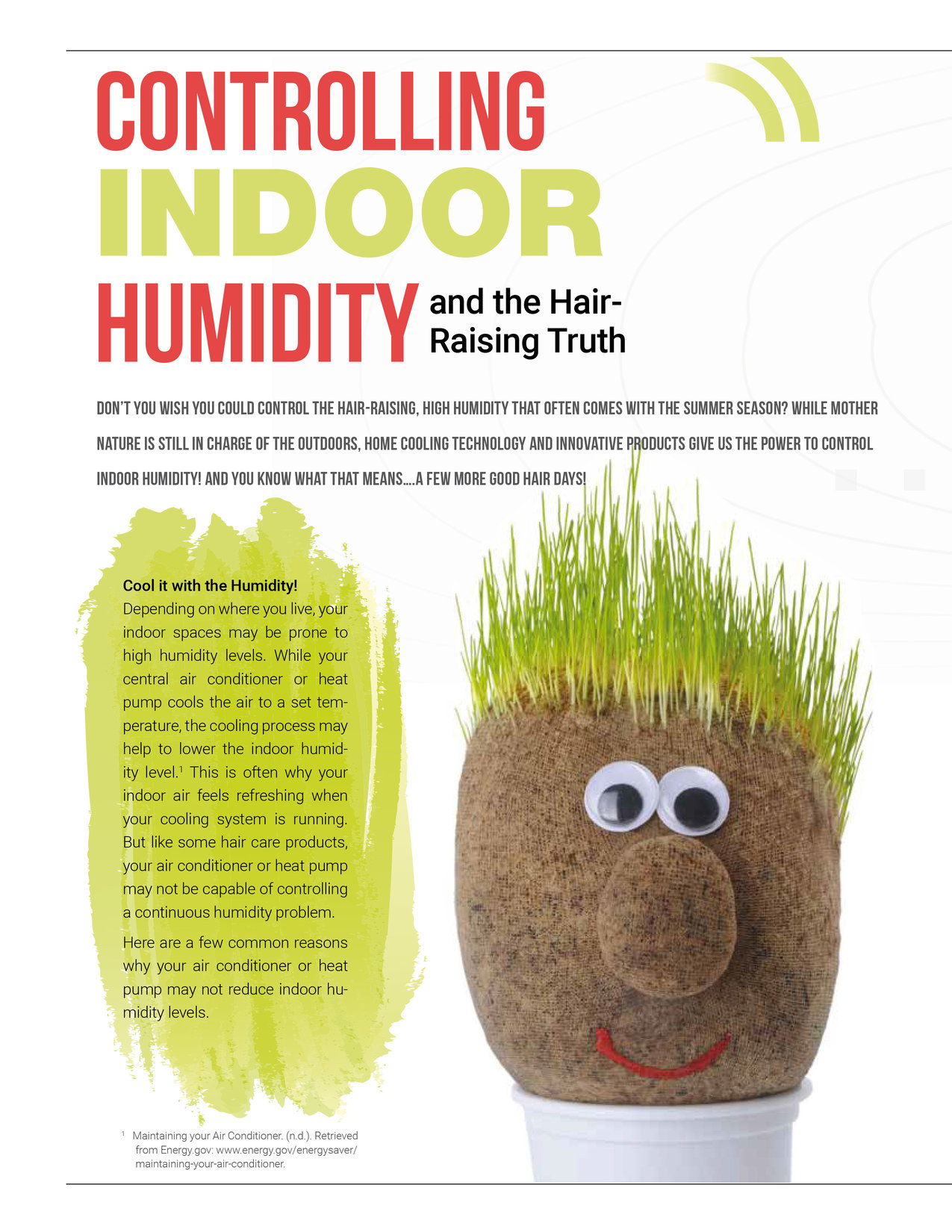 Controlling Indoor Humidity