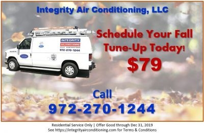 Integrity Air Conditioning LLC